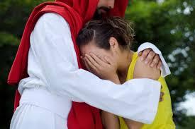 jesus hugging 2
