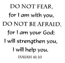 Image result for and jesus said don't be afraid