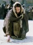 Sinning Jesus writing