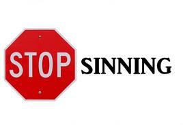 Stop sinning best