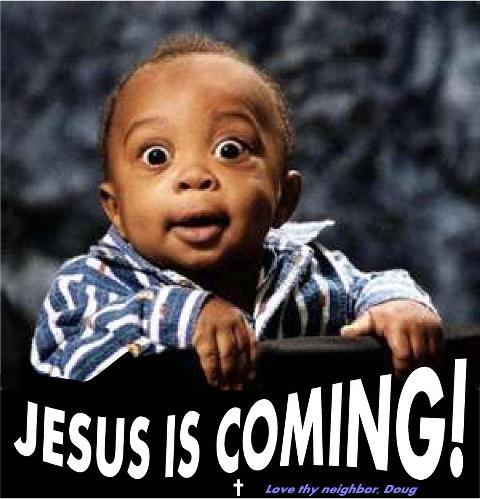 jesus is coming back best baby