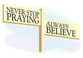 why pray never stop