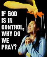 We are not puppets.  God allows us to make chooses and we must pray to make biblical choices for ourselves.