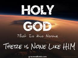 God is holy last