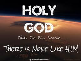 God is holy last