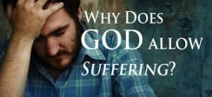 suffering why does God allow