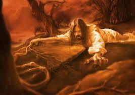 hell jesus praying
