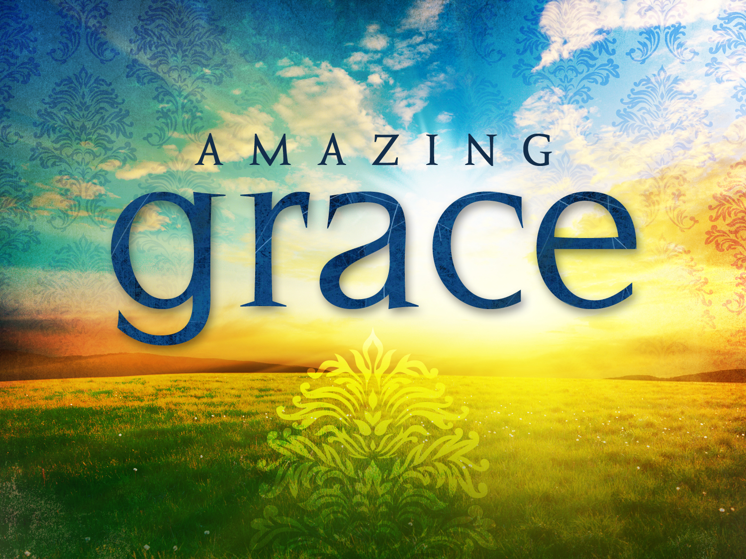 Amazon.com: Professionally Framed Amazing Grace (Lyrics ... |Amazing Grace Wallpaper Poems