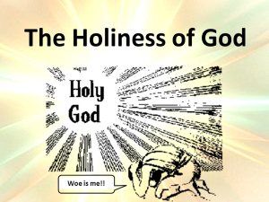 gods-holiness