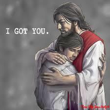 jesus hugging 1